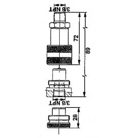 D315-A2 PORCA ORELHAS M10