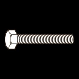 D125A-A2 ANILHA CHAPA PLANA M8