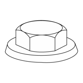 LV044 CAPUCHON NYLON 10 VERDE