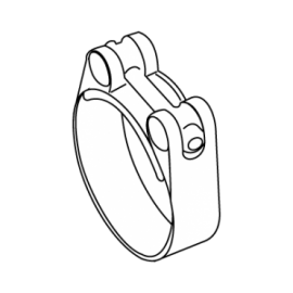 ABRAÇADEIRA SUPER 25 W1 68-73